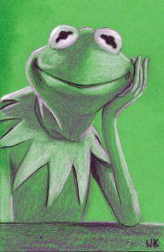 Warm Up: Kermit by N8KELLY.deviantart.com on @deviantART