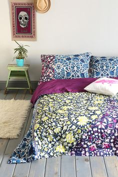 Magical Thinking Brocade Panel Quilt - Urban Outfitters on Wanelo