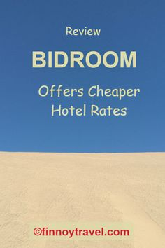 On Bidroom you can book hotels cheaper. We wrote about our first experiences. Read, what we think. Marketing Slogans, Travel Destinations, Travel Tips, Travel Companies, Cheap Hotels, Opi, Traveling By Yourself, Learning