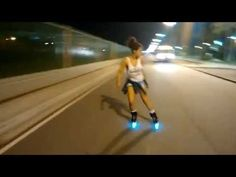 Street skates with neon light - YouTube Quad, Inline Skating, Neon Lighting, Youtube, Skates, Music, Street, Rolling Skate, Templates