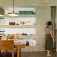 Atelier Boter creates home for a furniture designer above his shop in Taiwan