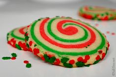 If you haven't figured it out yet, I use my basic sugar cookie recipe to make all sorts of treats.  From frosted, to tea infused to swirled, it's a great recipe to have on hand and modify to suit your needs.  Follow along for a quick tutorial on making these colourful swirled cookies using this…
