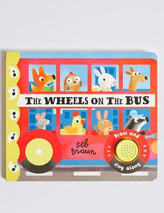 Buy the Wheels on the Bus Sound Book from Marks and Spencer's range. Kids Swim Shorts, Comforter Sale, Smart Casual Shirts, Dear Zoo, Wheels On The Bus, Summer Plants, Wine Case, Gift Hampers, Kids Swimming