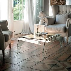 Transparent glass coffee table - Italy! 7 Most popular types of coffee tables | Blog | My Italian Living Ltd