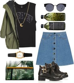 """mild evening"" by only-desire ❤ liked on Polyvore"
