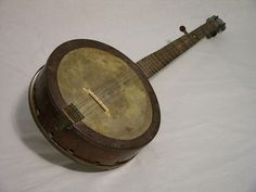 banjo from a barrel