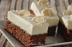Čokoládová torta s kokosovým krémom Romanian Desserts, Romanian Food, Just Cakes, Cakes And More, Dessert Drinks, Fun Desserts, White Chocolate Cupcakes, Chocolate Cake, Cake Recipes