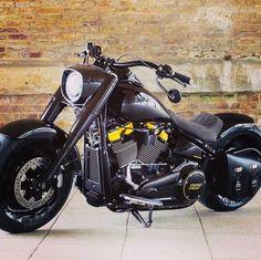 Harley Fatboy, Harley Bikes, Harley Davidson Sportster, Custom Choppers, Custom Harleys, Custom Bikes, New Harley, Harley Davison, V Rod