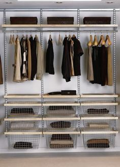 Elfa Wardrobe - Decor Best Selling Solution
