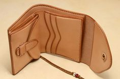 Taro Washimi - Saddle Leather - Wallet