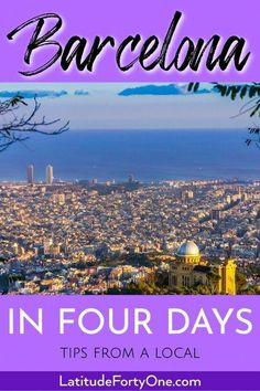 Travel dreams: How to Spend 4 Days in Barcelona - Latitude 41 - Awesome! Spain Travel Guide, Europe Travel Tips, Travel Guides, Travelling Tips, Italy Travel, Traveling, Barcelona Travel, Barcelona Spain, European Destination