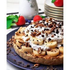Raw Banoffee Pie. Get this and 20+ more Raw Desserts recipes at https://feedfeed.info/raw-desserts
