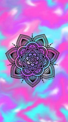 Paisley Wallpaper, Colorful Wallpaper, Pattern Wallpaper, Design Lotus, Mandala Design, Design Art, Mandala Drawing, Mandala Tattoo, Cute Backgrounds