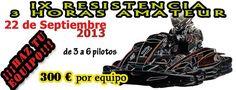 Ya podéis consultar los resultados del 4º Campeonato Social de Karting Club Los Santos celebrado el 08.09.13 en nuestro facebook:  https://www.facebook.com/KartingClubLosSantos