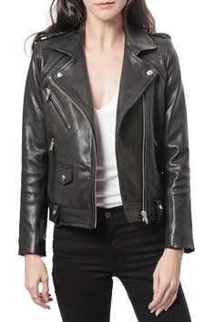 Zayone Leather Jacket