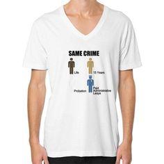 Same Crime V-Neck (on man) Shirt