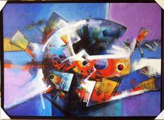 """Obra del artista Jesús Ovalles"""",obra vendida y exhibida en Bahía Redonda Gallery, ubicada en la marina internacional  Bahía Redonda, local 26, estado Anzoátegui, Venezuela"""