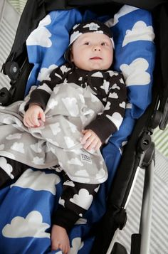 F:RG&FORM Moln Clouds Bodysuits, Beanies, Bedding and Blankets at Northlight Homestore