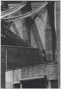 brooklyn bridge 1986 photo by louis stettner Louis Stettner, East River, Greenwich Village, East Village, Staten Island, Gotham City, Central Park, Brooklyn Bridge, New York City