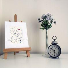 Drops - Original Abstract Ink Painting by Karolina Gassner