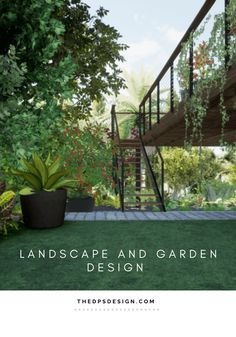 Garden Landscape Design and 3D Architecture Rendering, Los Angeles. For designers and homeowners, for new buildings and remodel projects. At The DPS Design we create unique Outdoor Living Space designs as well as realistic 3D Renderings for Gardens, Decks, and Terraces. #renderingarchitecture #architecturevisualization #3Drendering #smallgarden #landscapedesign #gardendesign #backyarddesign