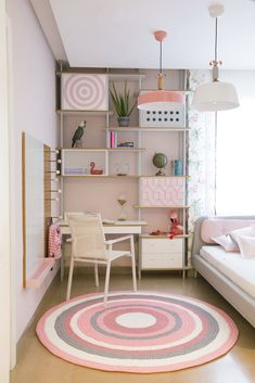 Custom Made Furniture, Furniture Making, Bright Color Pallets, Funky Bedroom, Memphis Design, Diy Projects Videos, Design Firms, Wall Design, Contemporary Design