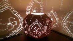 Gourd Lamp Scented Oil/Wax Warmer by zmckelven on Etsy