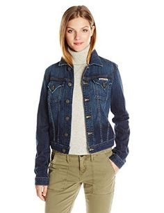 """Hudson signature jean jacket is a classic denim jacket fit with signature pocket details on the front, perfect to be worn with anything.       Famous Words of Inspiration...""""I'm totally at home on the stage. That's where I live. That's where I was born. That's where I'm...  More details at https://jackets-lovers.bestselleroutlets.com/ladies-coats-jackets-vests/denim-jackets/product-review-for-hudson-jeans-womens-signature-denim-jean-jacket/"""