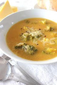 Warm&Snug&Fat: cheese and broccoli soup