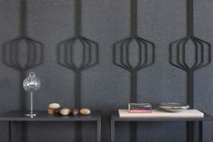 submaterial's latest practical and chic acoustic wall options | @meccinteriors | design bites