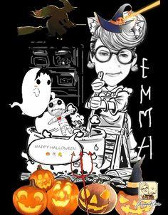#emmawaterson #happy #Halloween #digitalart #artwork #comics
