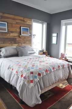 Paint colors that match this Apartment Therapy photo: SW 6258 Tricorn Black, SW 2836 Quartersawn Oak, SW 9154 Perle Noir, SW 6262 Mysterious Mauve, SW 6525 Rarified Air