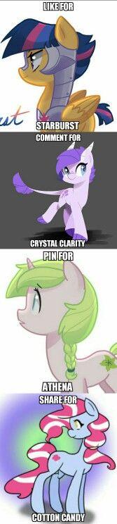 Who is the best Next Gen pony? (By Kilia97 on deviantart)