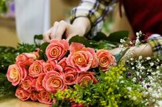 For florist Marek Fortineaux, no brawl has meant no corsages. Postponed weddings accept meant canceled bouquets. Closed churches meant no Ea. Flower Images Free, Rose Images, Heart Images, Flower Shop Dubai, Flower Shops, Best Flower Delivery, Amazing Flowers, Holiday Fun, Funeral