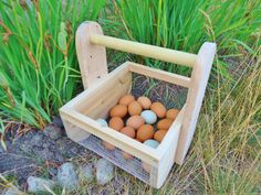 Egg Basket Berry Hod Garden Tote Harvest by ConversationGlass Harvest Basket, Egg Basket, Sell On Etsy, My Etsy Shop, Chicken Heart, Perfect Eggs, Garden Basket, Pinterest Board, Farmers Market
