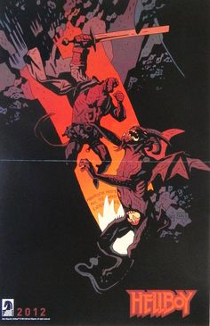 Mike Mignola's Hellboy In Hell Promo Poster (2012)