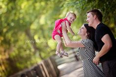 Precious family with their one year old baby girl    jenny lauren photography copyright