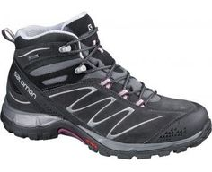 Salomon SALOMON Ellipse Mid GTX Ladies Hiking Shoes, Grey, UK7.5