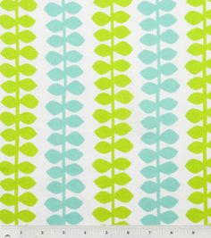 Snuggle flannel #fabric in branch green & turquoise :)