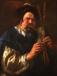 Jacob Jordaens (Flemish artist, Self-Portrait with Bagpipes Anthony Van Dyck, Peter Paul Rubens, Jacob Jordaens, Italian Paintings, Digital Museum, Collaborative Art, Old Master, Sculpture, Figure Painting