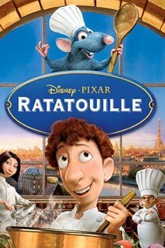 With astounding animation, inspirational messages, and endearing characters, Pixar Animation Studios (THE INCREDIBLES, CARS) and Walt Disney Pictures have whipped up something special with RATATOUILLE Ratatouille Disney, Ratatouille 2007, Disney Pixar, Disney Movie Club, Disney Movies, Film Pixar, Pixar Movies, Funny Movies, Walt Disney Pictures