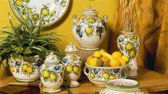 Antica Majolica Limoni collection...so beautiful!
