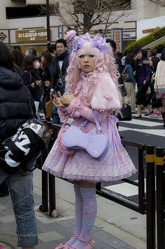 Harajuku girl. Can't wait to roam the streets and get some awesome fashion pics of this stylish subculture.