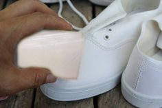 How to Clean White Shoes -- via wikiHow.com