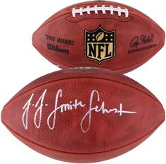 f6c3c0e232d JuJu Smith-Schuster Pittsburgh Steelers Autographed Duke Pro Football  Football  Steeler Nation