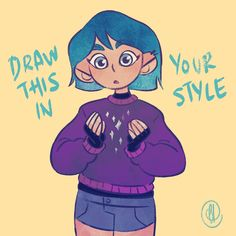 9 Best Draw this in your style images