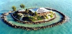 I want to live here.      East Sister Rock Island, located offshore of Marathon, is for sale for $12 million.