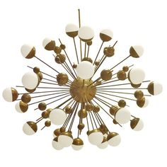Important Sputnik Chandelier By Stilnovo | 1stdibs.com