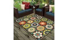 kilbury indoor/outdoor rug Color: Multi