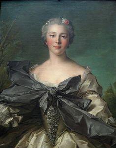 Marie Francoise de la Cropte by Jean Marc Nattier, Met Museum